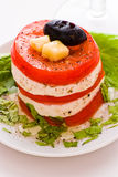 Cheese and tomato Royalty Free Stock Image