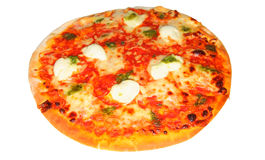 Cheese tomato pizza Royalty Free Stock Image