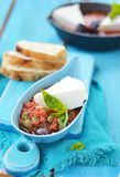 Cheese with tomato sause. Stock Photography