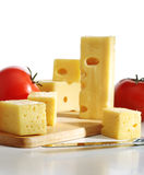Cheese with tomatoes Royalty Free Stock Photos
