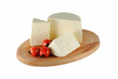 Cheese with tomatoes Royalty Free Stock Photography