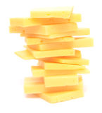 Cheese tower Stock Image
