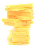 Cheese tower Royalty Free Stock Photo
