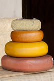 Cheese tower Royalty Free Stock Images