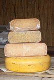 Cheese tower Stock Photos