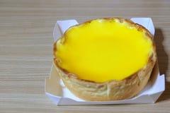 Cheese trat cake Stock Image