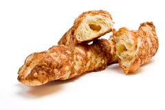 Cheese Twist Pastry Stock Photography