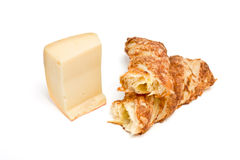 Cheese Twist Pastry Royalty Free Stock Photos