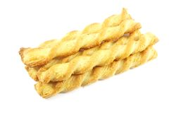 Cheese Twist Snack Stock Photography