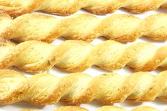 Cheese Twist Snack Royalty Free Stock Photo
