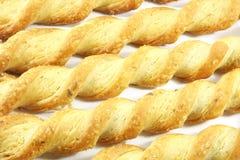 Cheese Twist Snack Stock Image
