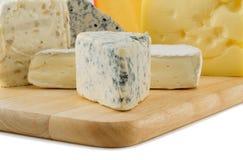 Cheese variates Stock Photos