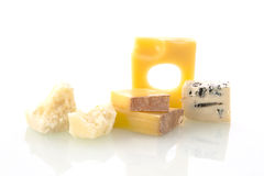 Cheese variation. Stock Photo