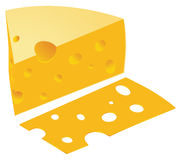 Cheese vector Royalty Free Stock Photo