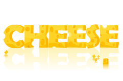 Cheese, vector Stock Photography