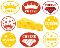Cheese. Vector illustration (EPS 10 Royalty Free Stock Photography
