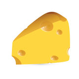 Cheese - vector illustration Stock Images