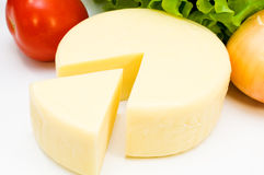 Cheese with vegetables Stock Photography