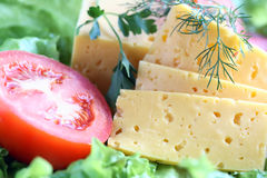 Cheese And Vegetables Royalty Free Stock Images