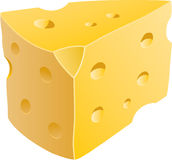 Cheese Wedge stock illustration