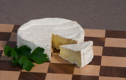 Cheese Wedge Royalty Free Stock Photos
