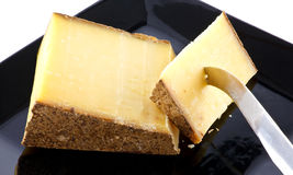 Cheese wedge Royalty Free Stock Images