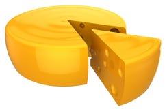 Cheese wheel (Hi-Res) Royalty Free Stock Image