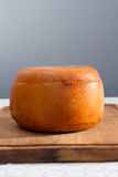 Cheese wheel Stock Image