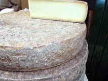 Cheese wheel Royalty Free Stock Photos