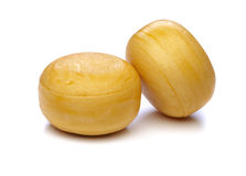 Cheese wheels Royalty Free Stock Images