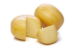 Cheese wheels Royalty Free Stock Photo