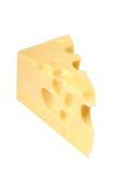 Cheese on white Royalty Free Stock Photos