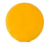 Cheese on white background. Stock Image