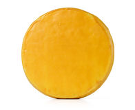 Cheese on white background. File contains a path to isolation. Stock Photography
