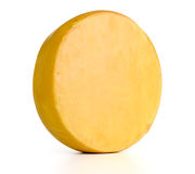 Cheese on white background. File contains a path to isolation. Royalty Free Stock Photos