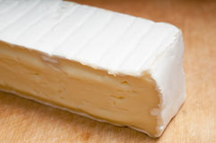 Cheese with white mould Stock Images