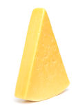 Cheese on white Royalty Free Stock Photography