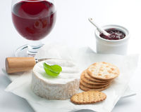 Cheese & Wine Stock Photos