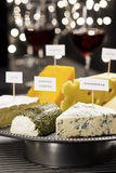 Cheese and Wine Tasting Party Royalty Free Stock Photos
