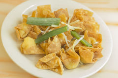 Cheese Wontons Stock Photos