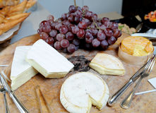 Cheese on wooden Stock Photo