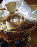 Cheeseboard. Food, gastronomy,culinary,cookery Royalty Free Stock Photos
