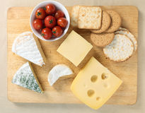 Cheeseboard Stock Photography