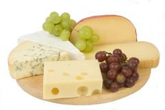 Cheeseboard Royalty Free Stock Photos