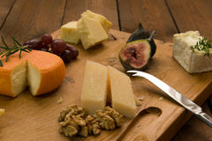 cheeseboard Immagine Stock