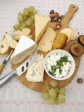 cheeseboard Stockbilder