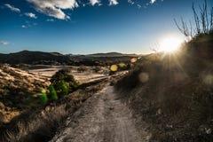 Cheeseboro och Palo Comado Canyon Royaltyfria Bilder