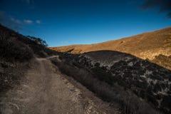 Cheeseboro och Palo Comado Canyon Arkivfoto
