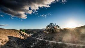 Cheeseboro och Palo Comado Canyon Fotografering för Bildbyråer