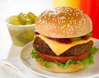 Cheeseburger Stock Image